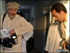 Stephen Farrell and Sultan Munadi