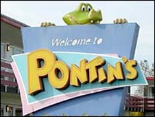 Pontin's sign, Camber Sands