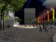 Artist impression of revamped Preston Flag Market (Pic: Preston City Council)