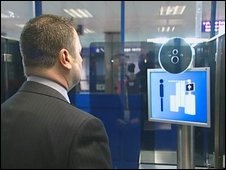 Facial recognition scanner
