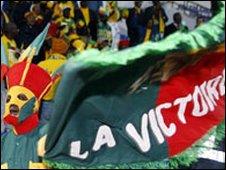 Benin fans