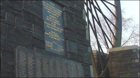 Gresford Disaster memorial