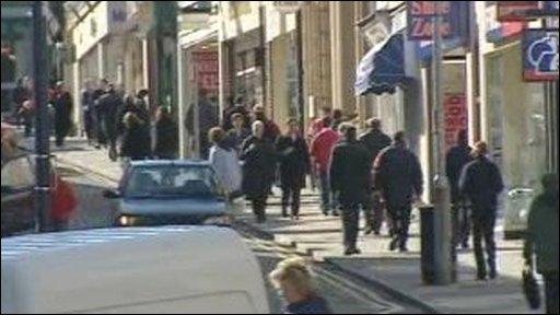 Aberystwyth high street