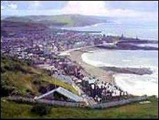 Panorama of Aberystwyth