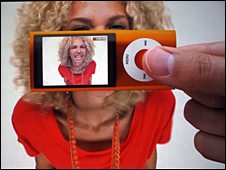 iPod Nano with camera