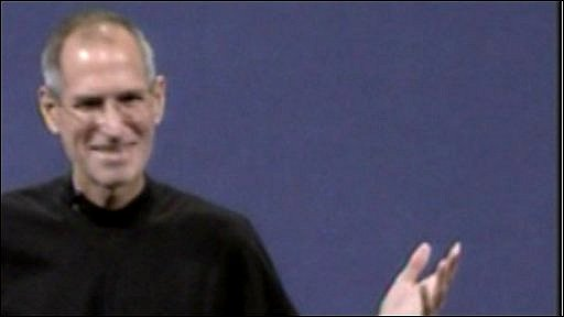 Steve Jobs making his first public appearance since October 2008