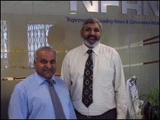 Suleman Khonat and Parminder Singh of the NFRN