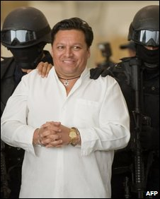 Jose Flores Pereira under arrest