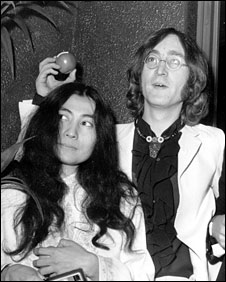 Yoko Ono and John Lennon