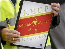 Johnnie Walker protest