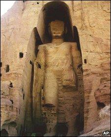 Destroyed Bamiyan Buddha