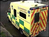 Northern Ireland Ambulance Service vehicle