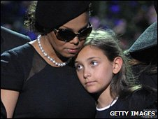 Janet and Paris Jackson