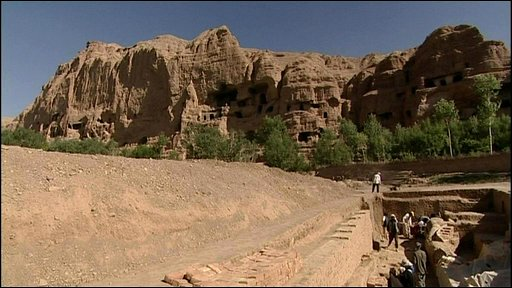 Bamiyan archaelogy dig