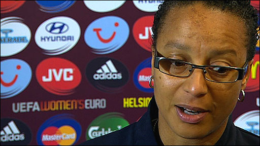 England coach Hope Powel