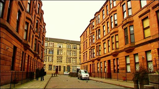 Tenements in Glasgow