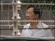 Chen Shui-bian in a Taipei jail - 11 September 2009