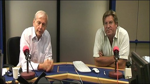 John Humphrys and Edward Stourton
