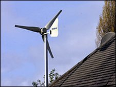 Roof turbine