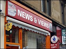 MK & Co newsagents