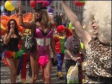 Gay Pride parade, Belfast
