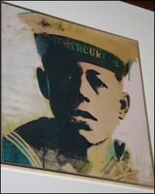 Portrait of Claude Choules as a young sailor