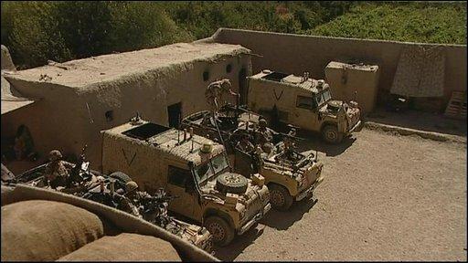 British army base