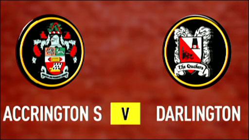 Accrington Stanley 2-1 Darlington