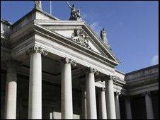 The Bank of Ireland head office in Dublin