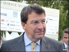 French Labour Minister Xavier Darcos