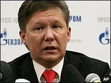 Alexie Miller, Gazprom
