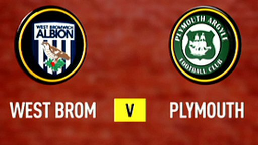 Highlights: West Brom 3-1 Plymouth