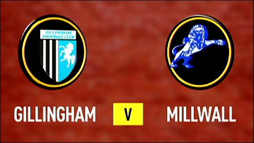 Gillingham v Millwall