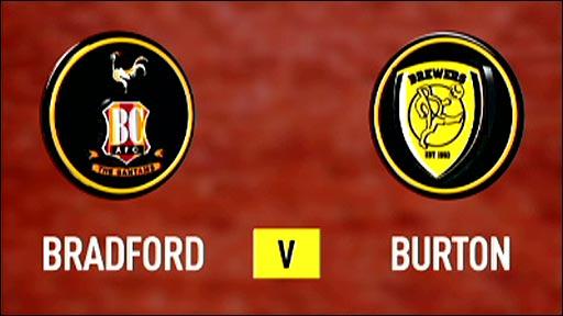 Bradford v Burton