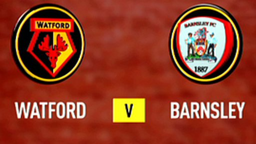 Highlights: Watford 1-0 Barnsley