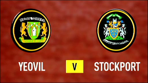 Yeovil v Stockport