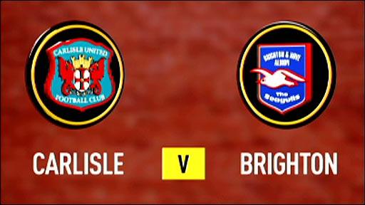 Carlisle v Brighton
