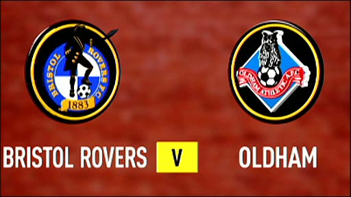 Bristol Rovers v Oldham