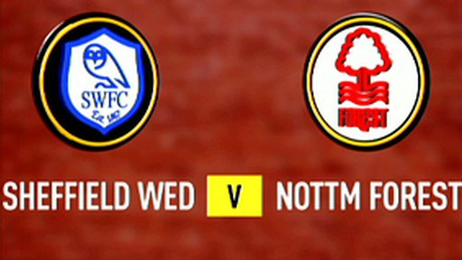 Highlights - Sheff Weds 1-1 Nottm Forest