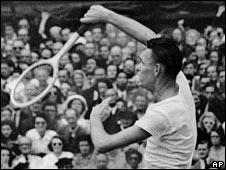 Jack Kramer in action