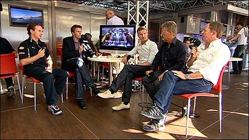 The BBC team