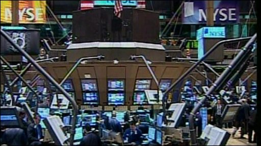 Interior of the NYSE