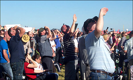 Crowd at Leuchars Airshow