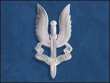 SAS crest