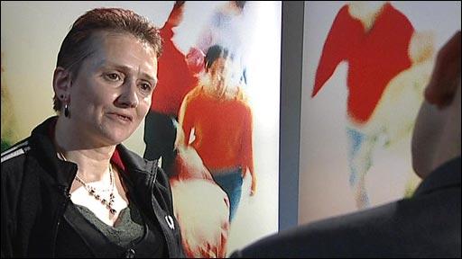 Former heroin addict Sarah