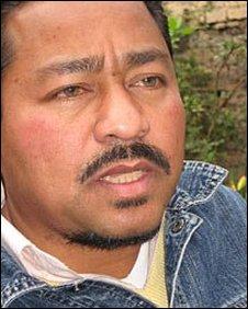 Peace adviser Xabier Hernandez