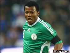 Nigeria and Zaragoza striker Ikechukwu Uche