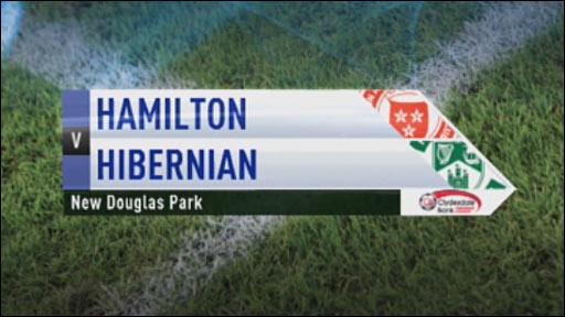 Highlights: Hamilton v Hibernian