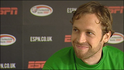 Celtic defender Andreas Hinkel