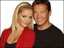 Daniella Westbrook and Sid Owen